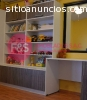 Muebles para dormitorio de melamina, FyS