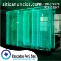 muro de burbujas, cortina de agua
