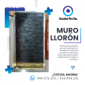 MURO LLORON – DISEÑOS PERSONALIZADOS