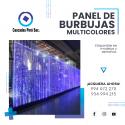 PANEL DE BURBUJAS MULTICOLORES