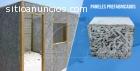Paneles prefabricados de tecnopor