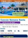 Precio de viaje a Cancún 2020