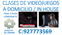 PROGRAMA TUS VIDEOJUEGOS CON CONSTRUCT 2