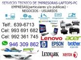 REPARACION DE COMPUTADORAS LAPTOPS SURCO