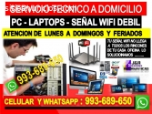 REPARACION DE INTERNET WIFI PC LAPTOPS