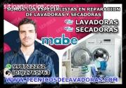 REPARACION DE LAVADORA MABE 998722262