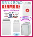 Reparación de lavadoras kenmore  9930762