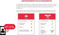 REPARACIÓN Y MANTENIMIENTO DE PUERTAS AU