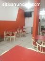 restaurante amoblado en alquiler 900s/