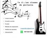 Se dictan clases  de guitarra