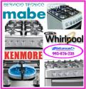 Servicio tecnico de cocinas a gas mabe