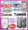 Servicio tecnico de termas a gas bosch