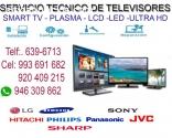 SERVICIO TÉCNICO DE TV LG 993691682
