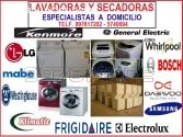 Servicio tecnico Lavadoras, secadoras