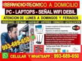 SERVICIO TECNICO REDES WIFI REPETIDORES