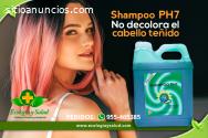 Shampoo PH7 ecológico de cabello teñido