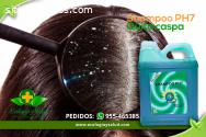 Shampoo PH7 ecológico, quita caspa