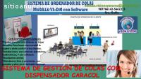SISTEMAS DE COLAS CON DISPENSADOR CARACO