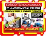 SOPORTE TECNICO A COMPUTADORAS LAPTOPS