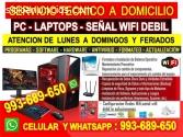 Soporte tecnico y configuracion wifi Pc