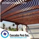 techos sol y sombra,techos de madera,