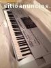 teclado de la estación de trabajo yamaha