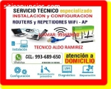 TECNICO DE INTERNET CABLEADOS RED Y TV