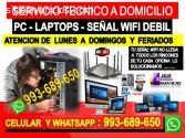 Tecnico de internet Pcs laptops formateo