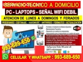 TECNICO DE INTERNET REPETIDORES WIFI