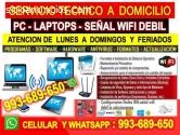 TECNICO DE INTERNET ROUTER REPETIDORES