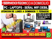 TECNICO DE REPETIDORES WIFI PC LAPTOPS