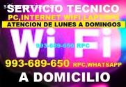 Tecnico instalacion Repetidores Wifi