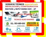 TECNICO INTERNET CONFIGURACION ROUTERS