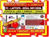TECNICO REPARACIONES WIFI REPETIDORES PC