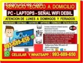 TECNICO WIFI PCS LAPTOPS CABLEADOS