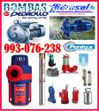 Técnicos de bombas de agua Pentax