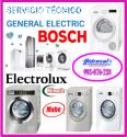Técnicos de lavadoras bosch y reparacion