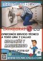 Técnicos Refrigeradoras y Lavadoras LG