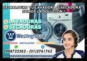 TECNICOS WESTINGHOUSE LAVADORAS 2761763