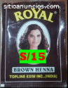 VENDO TINTE HENNA COLOR MARRON