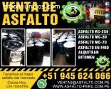 VENTA DE ASFALTO Rc 250 ALQUITRAN