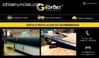 VENTA DE GEOMEMBRANA HDPE Y PVC
