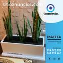 VENTA DE MACETA - Hecha de fibra de vidr