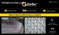 VENTA / INSTALACIÓN DE MALLA OLÍMPICA