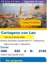 Viaje en Fiestas Patrias a Cartagena
