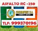 Asfalto Liquido rc-250 compre asfaltos