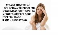 atraso menstrual 988657666 comas