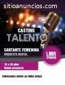 """Casting """"cantante femenina"""" lima"""