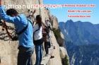 China Triángulo con Montaña Huashan