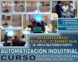 CURSO - CONTROL Y AUTOMATIZACION INDUSTR
